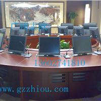 供应志欧电动显示器升降器圆型会议桌