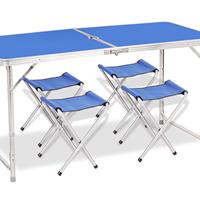 户外折叠桌 野餐促销桌 折叠桌 摆地摊桌子