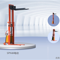 供应半电动堆高车  上海加力SPN半电动
