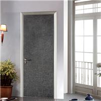 迈泽建材专业现代简约整套门 铝合金生态门