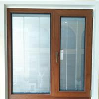 供应节能环保隔音窗75铝木复合窗
