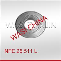 WASI现货 A2 NFE25511法式鞍型锁紧垫圈