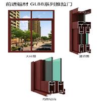 大量批发隔断铝材 幕墙铝材 铝合金系列型材