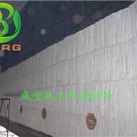 加热罐热力管道外保温使用白色硅酸铝纤维毯
