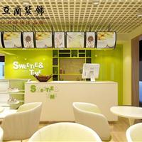 合肥奶茶店装修如何用植物装扮
