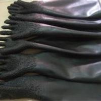 广东中山喷砂手套 颗粒橡胶喷砂手套批发