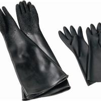 批发喷砂防护手套-颗粒橡胶喷砂手套