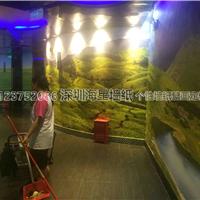 供应KTV走道壁纸公司 酒店走廊3D无缝墙画