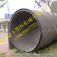 大口径塑钢缠绕管设备 排水管生产线