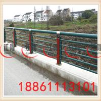 供应桥梁亚光不锈钢护栏 城市桥梁防撞护栏