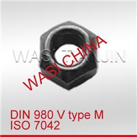 WASI供应金属锁紧螺母DIN980 ISO7042