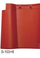 广西屋面瓦厂家供应 红色水泥西瓦 彩瓦