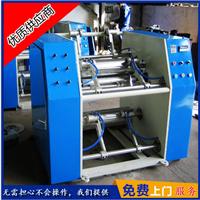 供应大批量低价直销高速全自动保鲜膜复卷机