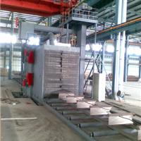 鼎泰通过式钢结构抛丸清理机除锈设备