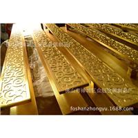 供应雕刻铜板大门拉手生产厂家 众钰拉手