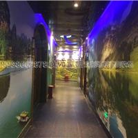 供应ktv走廊墙纸价格 酒店走道3D壁画厂家
