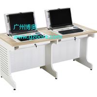 供应  北京多媒体电脑桌、多媒体翻转电脑桌