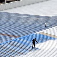 迎G20峰会 厂房屋顶采用上海百艳水性彩瓦漆