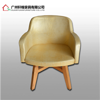 供应佛山餐椅_轩橼金属皮餐椅