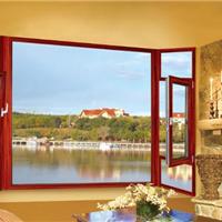 铝合金门窗品牌德罗堡门窗55非断桥平开窗