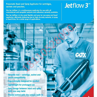 英国COX Jetflow 3 气动胶枪 气动喷胶枪