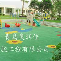 东营幼儿园塑胶跑道 东营幼儿园彩色跑道