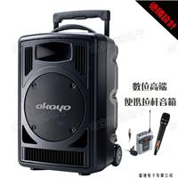 供应OKAYO高端拉杆音箱GPA-828D1德国设计