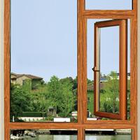 铝合金门窗厂德罗堡门窗DLB70非断桥平开窗