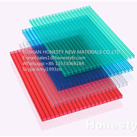 供应厂家直销德国拜耳原料阳光板工程板材