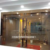 深圳玻璃门办公室玻璃门酒店玻璃门包边