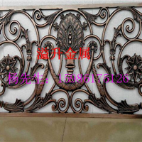 欧式铝雕刻浮雕重庆别墅装饰铝板镂空屏风