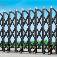 嘉峪关伸缩门、工业门,铝合金大门供应商