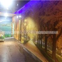 供应ktv走道墙布 酒店走廊装修3D壁布壁画