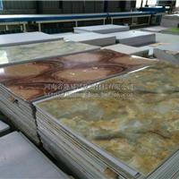 山东省厂家供应仿大理石UV板、石塑线条