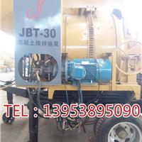 内蒙古搅拌拖泵一体机-柴油机动力-野外作业
