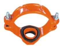 供应沟槽机械三通 迈克沟槽机三 沟槽管件