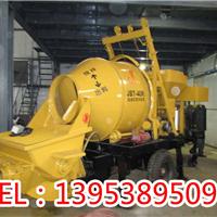 临汾大宁县混凝土搅拌拖泵一体机-电机驱动