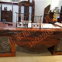 船木家具办公台,老板台,会议桌