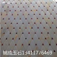 供应锦成玉石马赛克拼花厂家直销