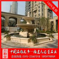 景观石材水钵喷泉