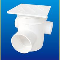 排水管件管道 pvc 多功能防臭地漏三通