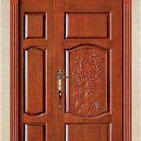 供应大浩湖原木门,原木雕花子母门。