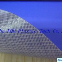 供应PVC夹网布涤棉布双面涂层