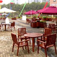 园林家具木质桌椅、铁质休闲桌椅