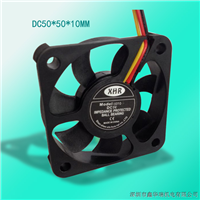 供应CPU散热风扇DC5010 三线带FG信号测试