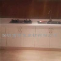 供应深圳石英石整体厨房 石英石厨房操作台
