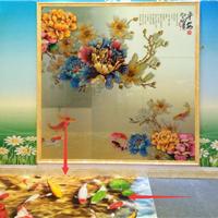 瓷砖背景墙定制