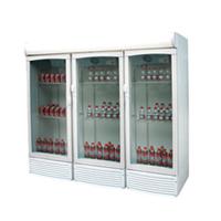 供应三门冷藏风冷饮料柜