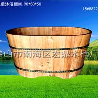 橡木儿童沐浴桶,洗澡桶,蒸汽桶,杉木泡脚桶