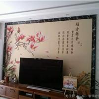 供应瓷砖彩雕背景墙瓷砖雕刻3D背景墙